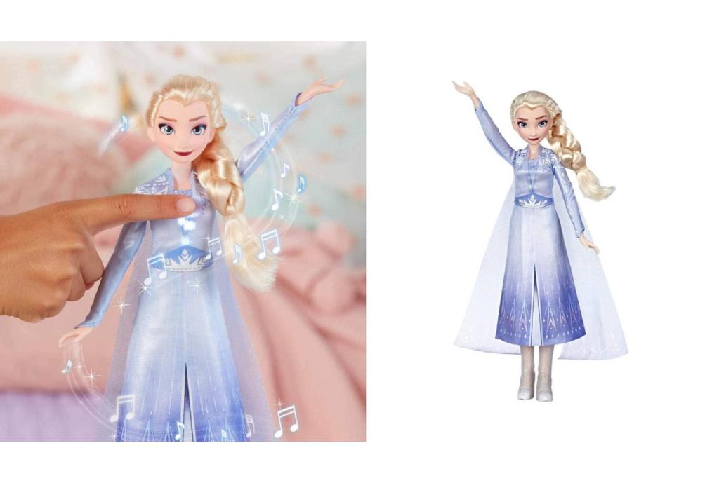Muñeca cantarina de Elsa, Frozen 2